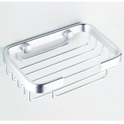 KLOUD City® Rectangle Aluminium Wall Mounted Soap Basket/Holder/ with Concealed Screws