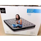 The Sharper Image / Full Size Flocked Air Bed with Air Pump