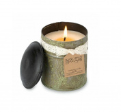 Himalayan Candles Spice Tin 300ml Soy Candle, Small, Ginger Patchouli, Green