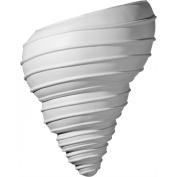 Ekena Millwork SCO10X05X12SH 26cm W x 14cm D x 32cm H Spiral Shell Wall Sconce