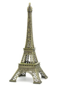 Wisedeal Metal Marvels Eiffel Tower Paris France Figurine Replica Centrepiece Room Table Décor Jewellery Stand Tea Candle Holder