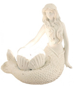 Young's Resin Mermaid Tealight Candle Holder, 16cm