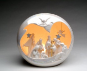 Appletree Design Large Globe Nativity Scene, Lighted, 25cm by 22cm , Includes Light Bulb and Cord
