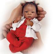 Waltraud Hanl Tiny Miracles Jasmine African American Baby Girl Doll
