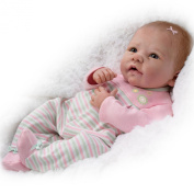 Elizabeth Baby Doll by Master Doll Artist Linda Murray Is Weighted and Poseable by The Ashton-Drake Galleries