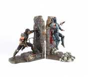 Mortal Kombat 9 Bookends with Scorpion & Subzero