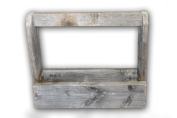 Old Wooden Tool Box - Barnwood Tote and Tool Caddy