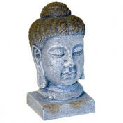 Blue Ribbon Pet Products Resin Aquarium Ornament - Oriental Buddha Head Large 15cm
