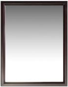 Simpli Home Urban Loft Bath Vanity Mirror, Dark Espresso Brown