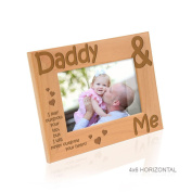 Kate Posh - Daddy & Me - I may outgrow your lap, but I will never outgrow your heart - Picture Frame