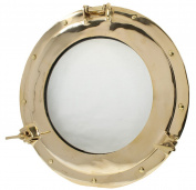 38cm Brass Porthole Window