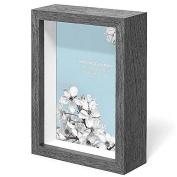 Swing Design Chroma Shadow Box Frame, 13cm by 18cm , Charcoal Grey