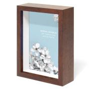 Swing Design Chroma Shadow Box Frame, 13cm by 18cm , Walnut