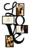 Burnes of Boston 545840 Love 4 Opening Wall Collage, 10cm by 15cm