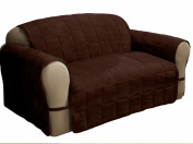 Innovative Textile Solutions Ultimate Furniture Protector Loveseat, Chocolate