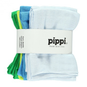 Pippi Baby Boys Nappies Solid 8 Pack Scarf