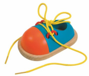 Woodyland 11 x 7 cm Didactic Toys Lacing Shoe