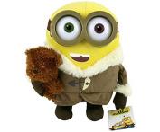 28cm Ice Village Bob With Bear Minions Soft Toy