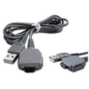 USB VMC-MD1 VMCMD1 - Cable Cord Lead Wire for Sony Cyber-Shot DSC-W55, W80, W85, W90, W110, W120, W130, W150, W170, W200, W300, W370, WX1 Digital Camera Cable - 1.4m Grey - Bargains Depot®