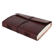 Handmade Leather Journal for Men Unique Father Day Gifts By Rustic Town
