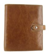 Filofax Malden Leather A5 Ochre Organiser Agenda Diary Calendar 025847 with Free Jot Pad refill