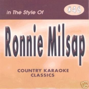 RONNIE MILSAP Country Karaoke Classics CDG Music CD