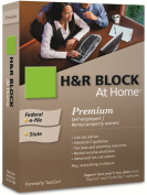 H & R Block At Home 2009 Premium Federal + State + eFile [OLD VERSION]