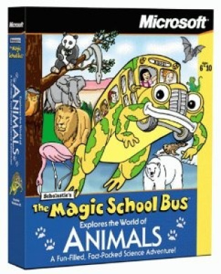 Magic School Bus Explores The World Of Animals