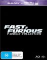Fast and Furious (7-Movie Collection)  [Region B] [Blu-ray]