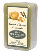 Marius Fabre Savon de Marseille Shea Butter Bath Soap 250g - Cinnamon Orange