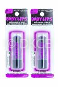2 x Maybelline Baby Lips Electro Lip Balm - Berry Bomb
