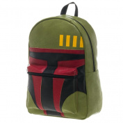 Star Wars Boba Fett Face Green Backpack