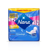Nana Ultra Normal Goodnight - Sanitary Towels - 3 Packs of 20 Each
