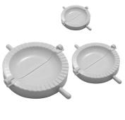 Homgaty 3Pcs Ravioli Dumpling Mould Dough Press Turnover Cutters Pasty Samosa Makers Tool