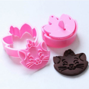 Cy-buity 3Pcs/Set Dove Shape Fondant Cookie Cake Sugarcraft Plunger Cutters Mould Tools Specialised