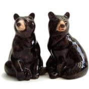 Quail Ceramics - Black Bear Salt and Pepper Pots