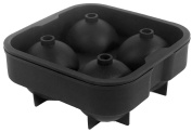CHIC*MALL Silicon Whiskey Ice Cube Ball Maker Mould Sphere Mould Brick Party Tray Round Bar