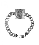 Saraswati Yantra Bracelet In 925 Sterling Silver Blessed And Energised