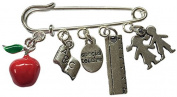 Special Teacher Charm Bracelet Brooch Or Bag Charm