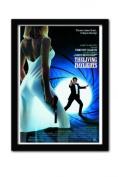 James Bond The Living Daylights One Sheet A3 Framed Print