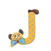 """Legler """"J"""" Bear's Head Letter Children's Furniture"""