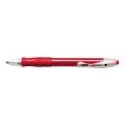 Velocity & reg Retractable Ballpoint Pen, Medium Point, Red Ink, Dozen