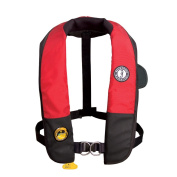 Mustang Deluxe Auto Hydrostatic Inflatable PFD w/Harness Universal