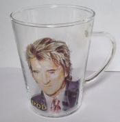 ROD STEWART GLASS TEA OR COFFEE MUG,