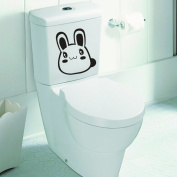 Belongme The First Choice Funny Necessary Decoration With Cute Pet Awesome Pattern Toilet stickers For Home Bathroom/ Hotel/ Clubs/ Pubs/ Cafe/ Office/ Anywhere You want to give others differently feel