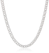 Sterling Silver 2.8mm Double Curb Link Chain