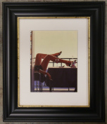 The Temptress by Jack Vettriano Framed Art Print Picture (33cm x 28cm) Black Frame