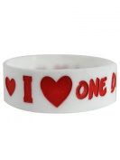 One Direction I Love Wristband