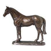 Ascot Andy Horse Sculpture by Harriet Glen H17.5cm Cold Cast Bronze Resin