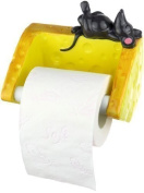 Toilet Paper Holder Mouse with Cheese